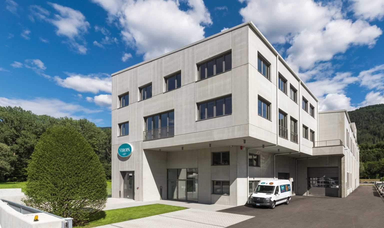 Produktionsstätte in Brixen