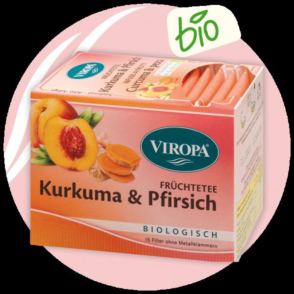 Viropa Kurkuma und Pfirsich