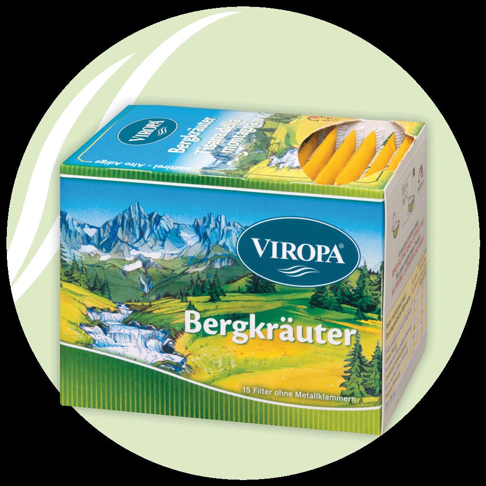Viropa Bergkräuter Tee
