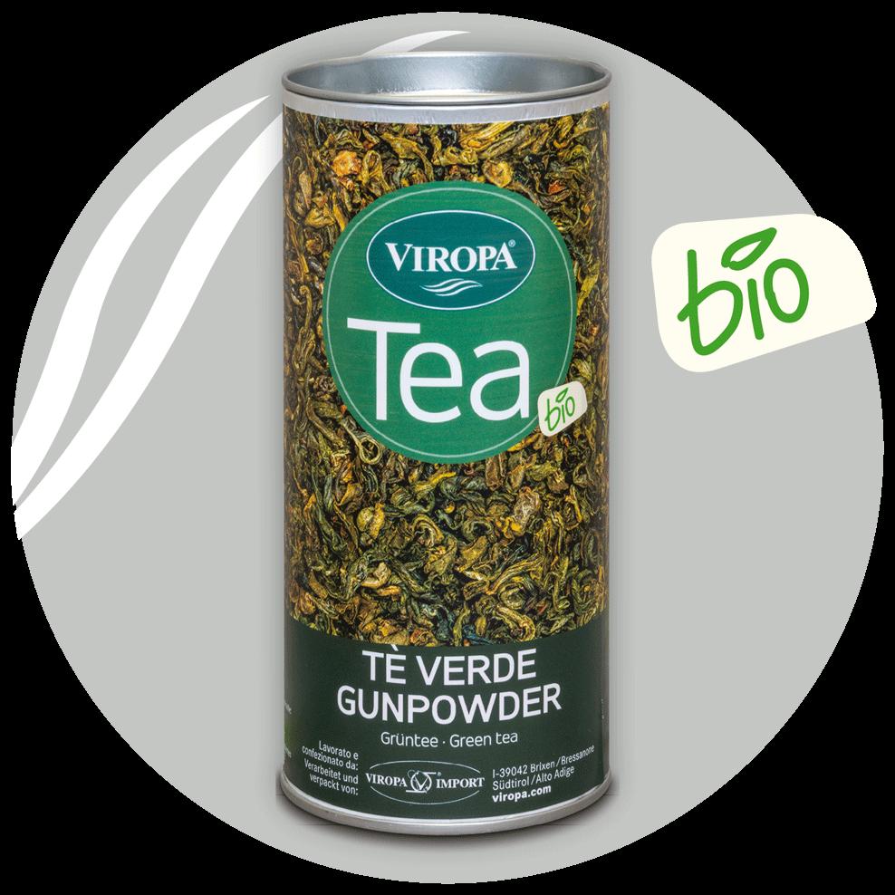 viropa tè aperto gunpowder bio